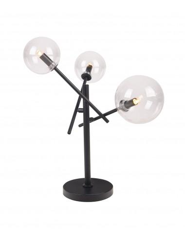 Galda lampa Lollipop melna