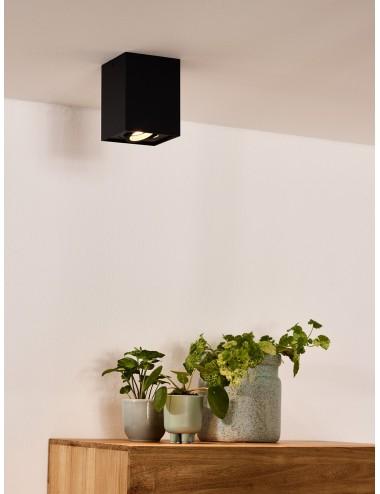Griestu lampa Tube melna