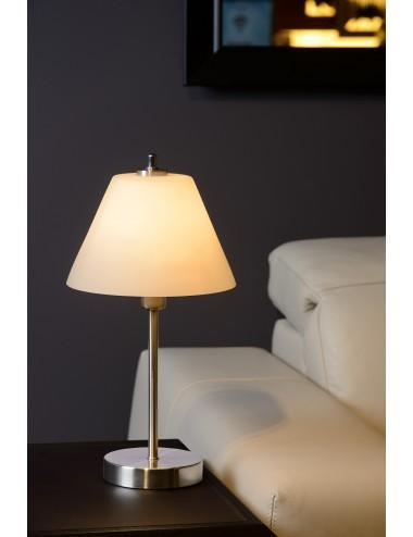 Galda lampa Touch hroms