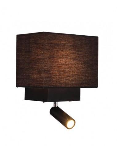 Sienas lampa H59 melna