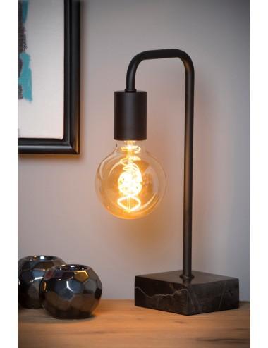 Galda lampa Lorin melna