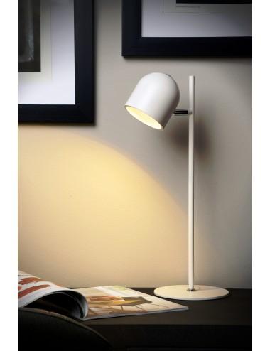 Galda lampa Skanska balta