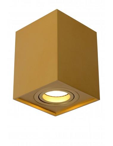 Griestu lampa Tube zelta