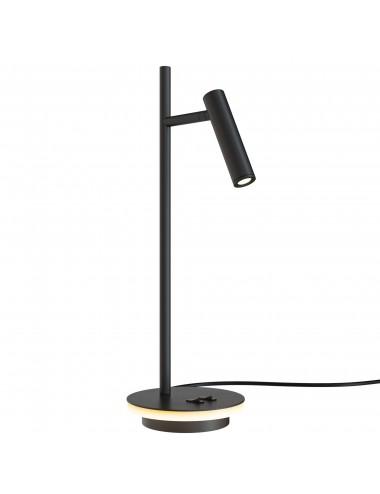Galda lampa Estudo melna