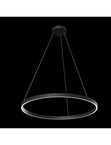 Piekaramā lampa Rim melna