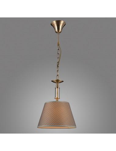 Piekaramā lampa Zanobi pelēka
