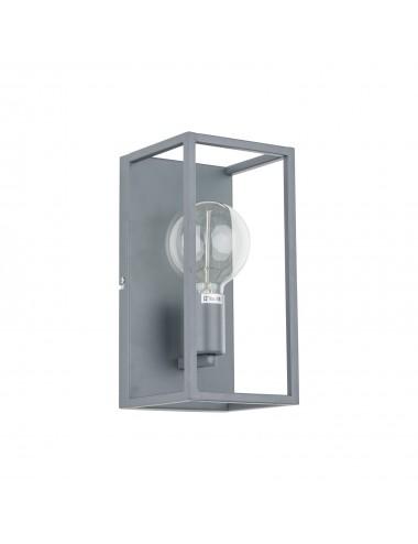 Sienas lampa Sigalo pelēka