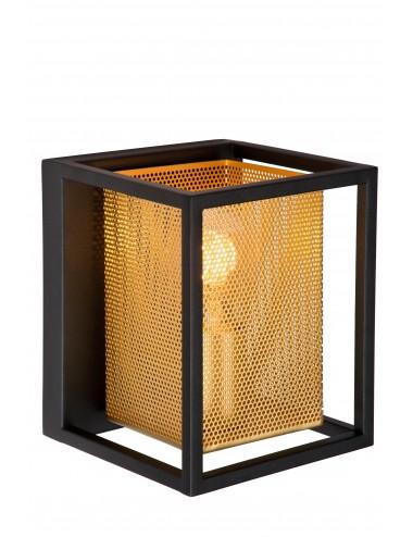 Sienas lampa Sansa melna