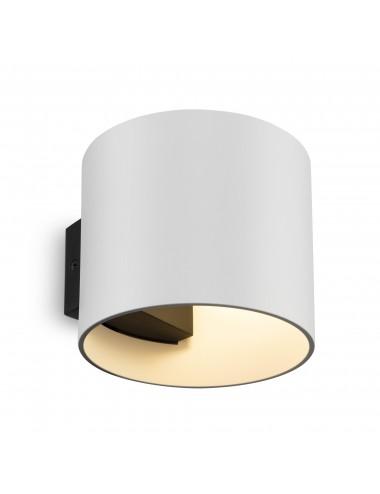 Sienas lampa Rond balta