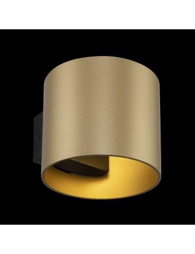 Sienas lampa Rond zelta