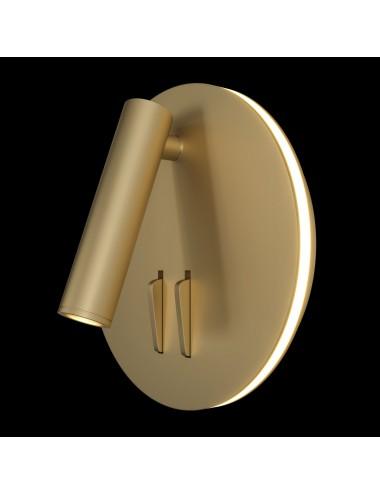 Sienas lampa Ios 176 zelta