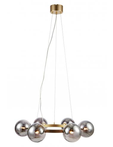 Piekaramā lampa Circle zelta