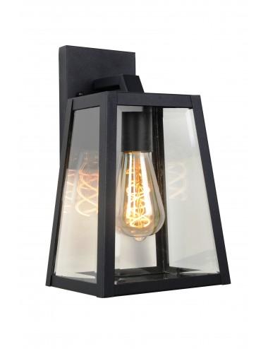 Fasādes lampa Matslot melna
