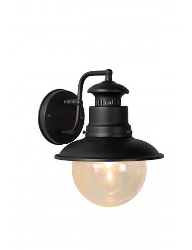 Fasādes lampa Figo melna