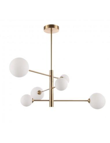 Griestu lampa Dorado 6 zelta