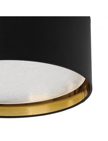 Griestu lampa Bilbao melna