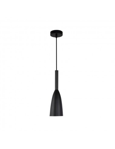 Piekaramā lampa Solin melna