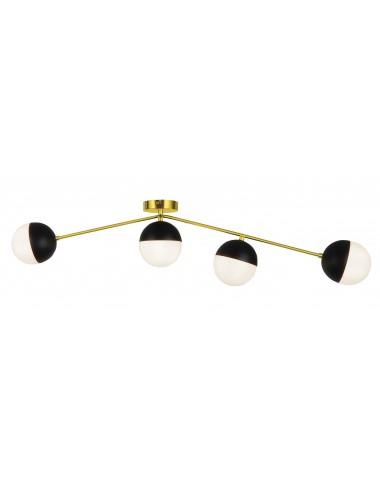 Griestu lampa Orbit zelta