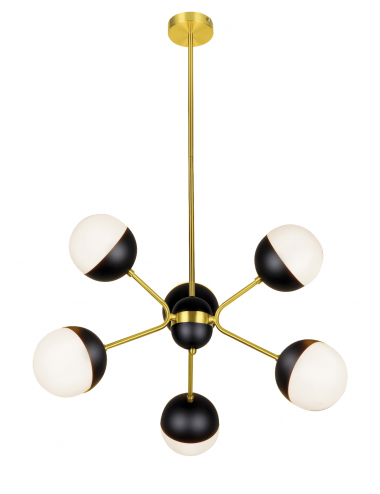 Piekaramā lampa Orbit zelta