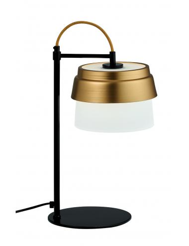 Galda lampa Morgan melna