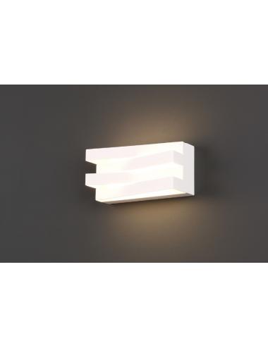Sienas lampa Araxa balta