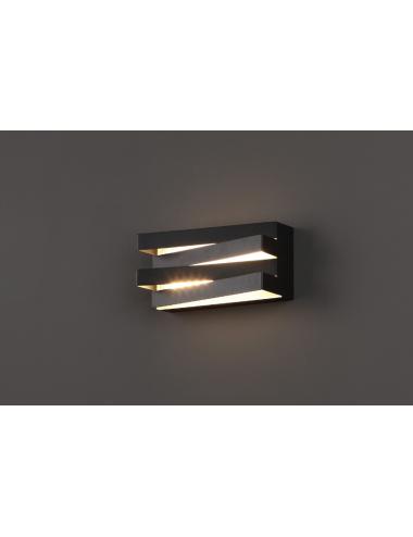 Sienas lampa Araxa melna