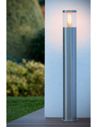 Dārza lampa Fedor hroms