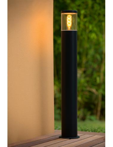 Dārza lampa Fedor melna