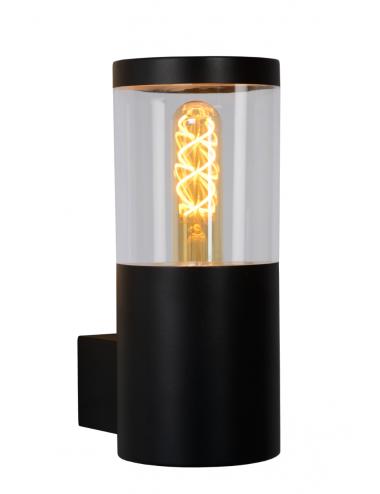 Fasādes lampa Fedor melna