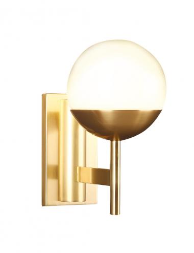 Sienas lampa Dallas zelta