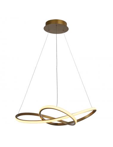 Piekaramā lampa Vita zelta