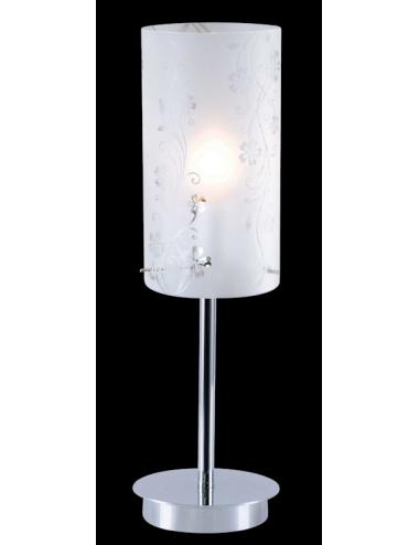 Galda lampa Valve hroms