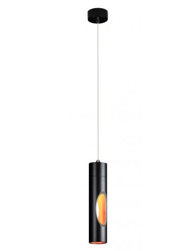 Piekaramā lampa Golden melna