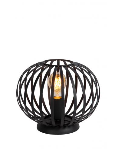 Galda lampa Manuela melna