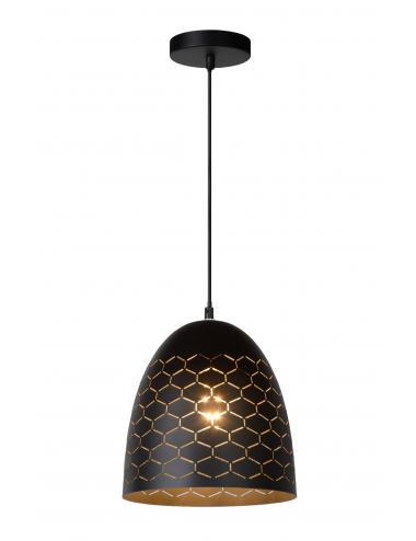 Piekaramā lampa Galla melna