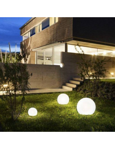 Dārza lampa Cumulus XL balta