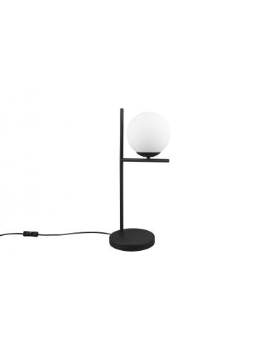 Galda lampa Pure melna