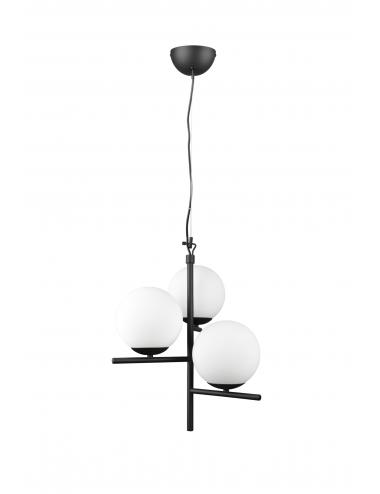 Piekaramā lampa Pure melna