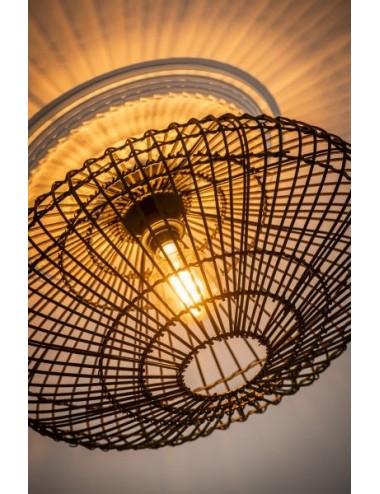 Griestu lampa Magali melna