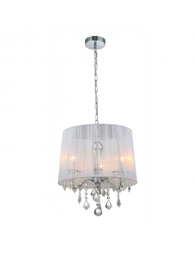 Piekaramā lampa Cornelia balts