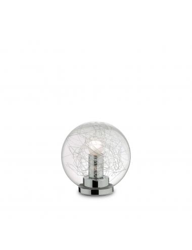 Galda lampa Mapa Max hroms