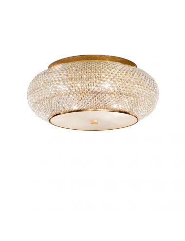 Griestu lampa Pasha' zelta