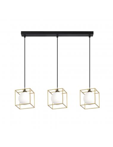 Piekaramā lampa Lingotto melna